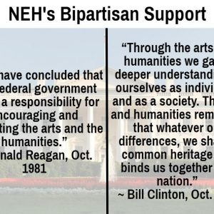 NEH's Bipartisan Support