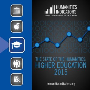 The State of the Humanities: Higher Education 2015