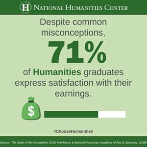 Humanities Majors Salary Satisfaction